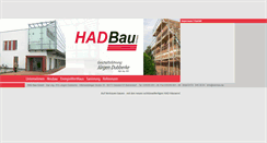 Preview of had-bau.de